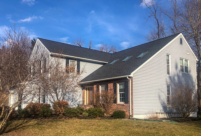 New Shingle Roof in Ellicott City, Maryland by Hillcrest Roofing