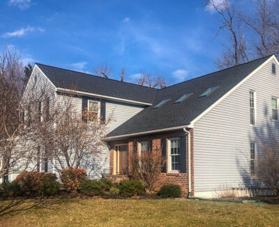 Dark Gray Charcoal Shingle Roofing