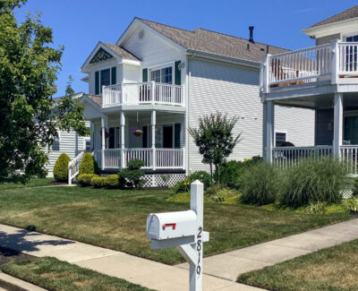 new white vinyl siding in Ocean City, NJ
