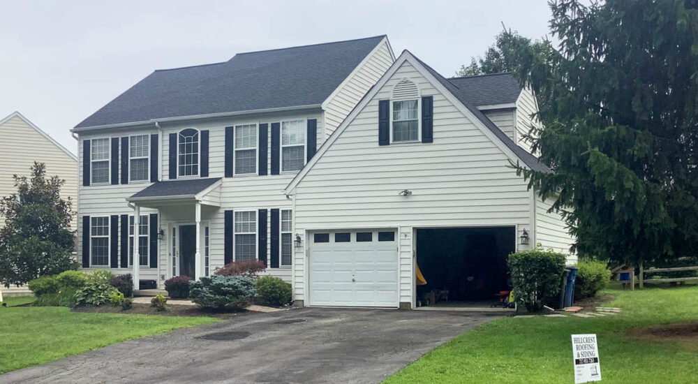 new charcoal black shingle roofing in Coatesville, pa