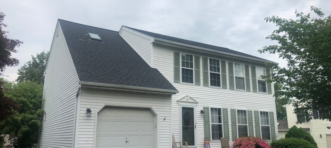New shingle roof in Royersford, PA