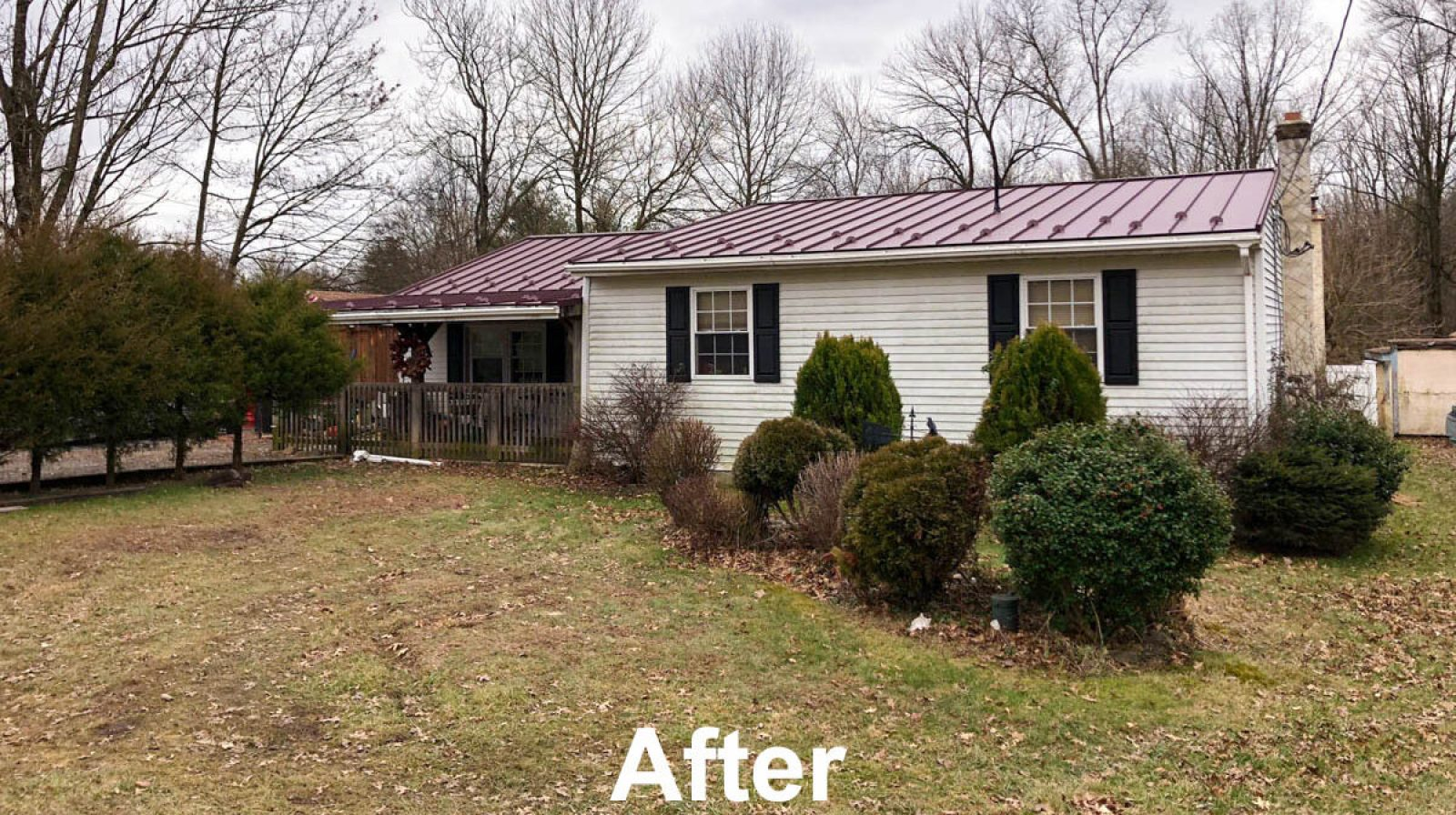 New Standing Seam metal Roof by Hillcrest Roofing and Siding