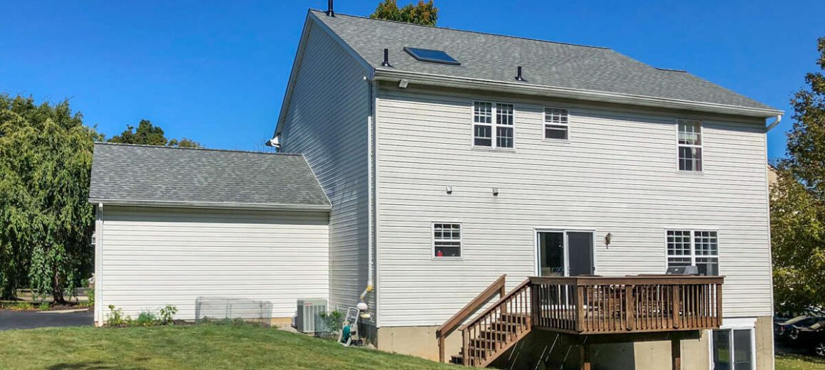 New shingle roof in Collegeville, PA