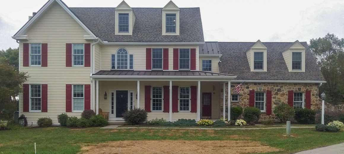 New Shingle Roof and Hardie Siding in Chester Springs, PA