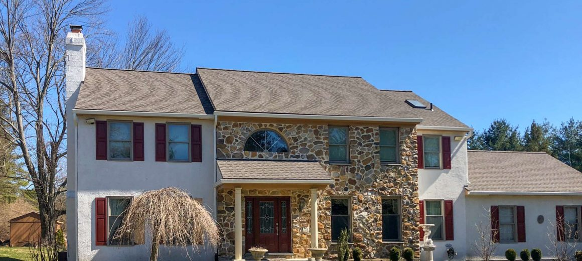 New Shingle Roof in West Chester, PA